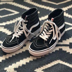 Vans Sk8-Hi Black/White Skate Shoes